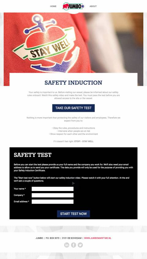 Home - Jumbo Safety Induction