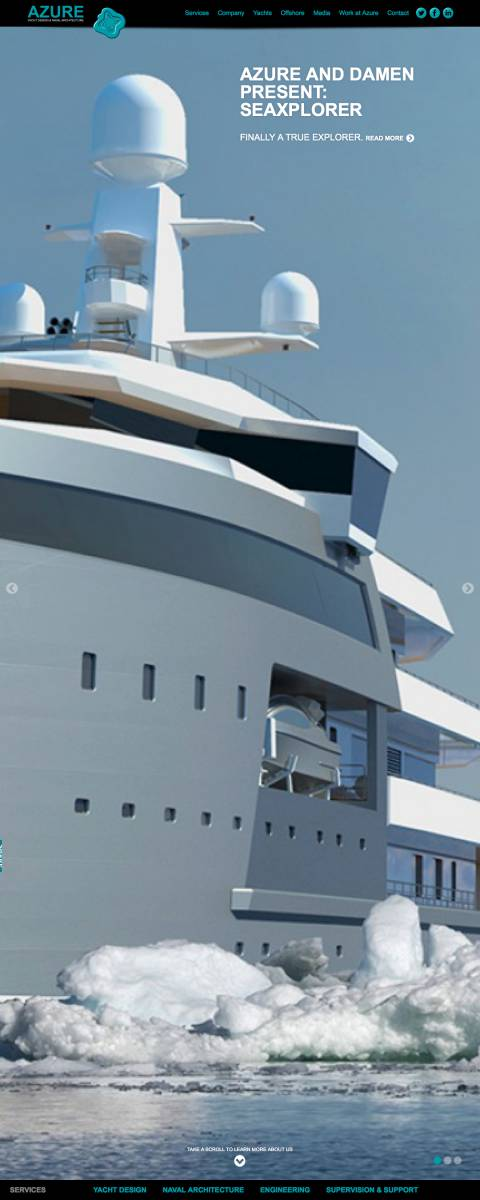 Home - Azure Yacht Design & Naval Architecture