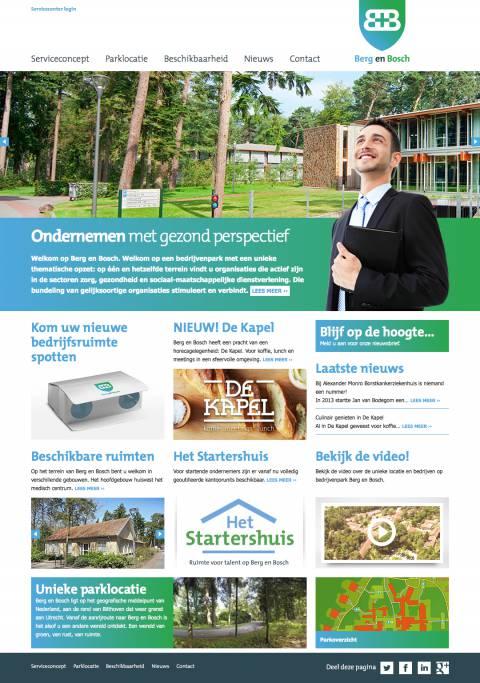 Home - Berg en Bosch - Ondernemen met gezond perspectief