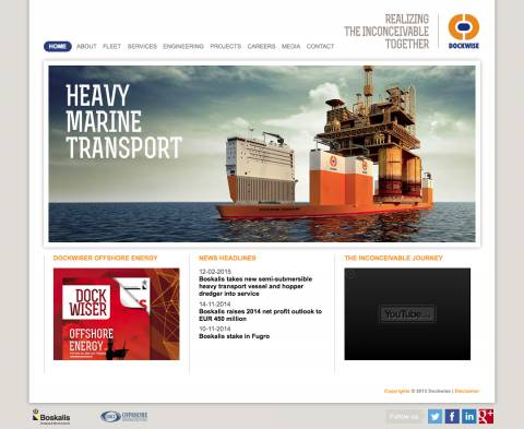 Home :: Dockwise :: Marine Contractor